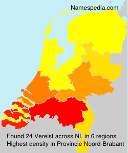 Surname Verelst in Netherlands