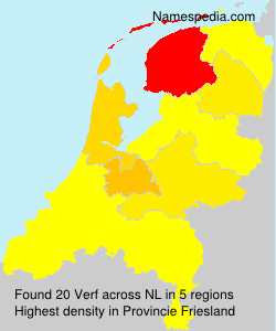 Surname Verf in Netherlands