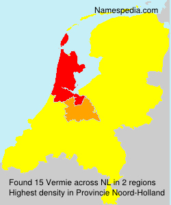 Surname Vermie in Netherlands