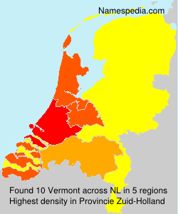 Surname Vermont in Netherlands
