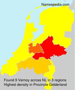 Surname Vernoy in Netherlands