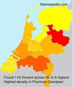 Surname Vincent in Netherlands
