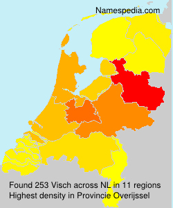 Surname Visch in Netherlands