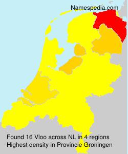 Surname Vloo in Netherlands