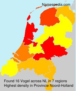 Familiennamen Vogel - Netherlands