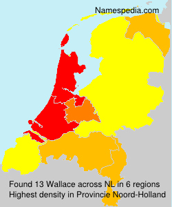 Surname Wallace in Netherlands
