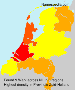 Surname Wark in Netherlands