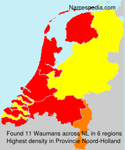 Surname Waumans in Netherlands