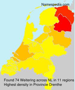 Familiennamen Weitering - Netherlands
