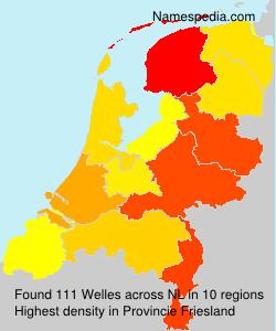 Surname Welles in Netherlands