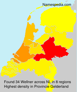 Surname Wellner in Netherlands