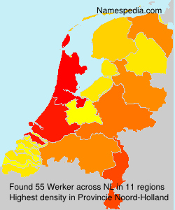 Surname Werker in Netherlands