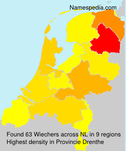Surname Wiechers in Netherlands