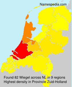 Surname Wiegel in Netherlands
