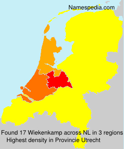 Surname Wiekenkamp in Netherlands