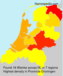 Surname Wienke in Netherlands