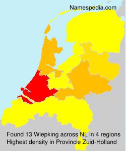 Familiennamen Wiepking - Netherlands