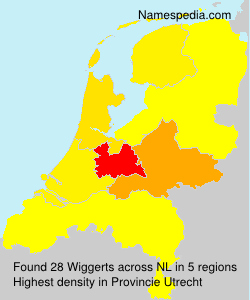 Surname Wiggerts in Netherlands