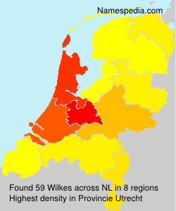 Surname Wilkes in Netherlands