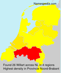 Surname Willart in Netherlands