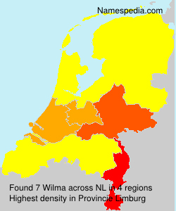Surname Wilma in Netherlands