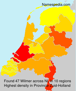 Familiennamen Wilmer - Netherlands