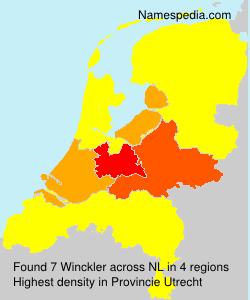 Familiennamen Winckler - Netherlands