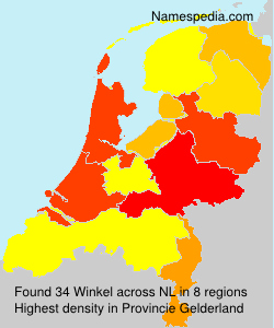 Surname Winkel in Netherlands