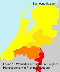 Surname Wolbertus in Netherlands