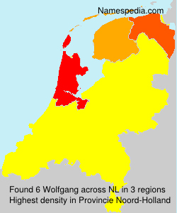 Surname Wolfgang in Netherlands