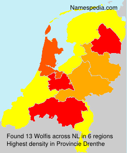 Surname Wolfis in Netherlands