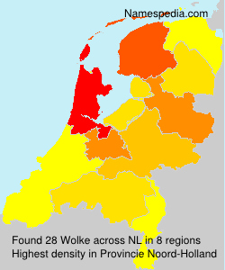 Surname Wolke in Netherlands