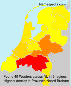 Surname Wouters in Netherlands