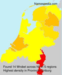 Surname Wrobel in Netherlands