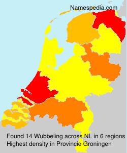 Familiennamen Wubbeling - Netherlands