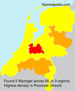 Surname Wychgel in Netherlands
