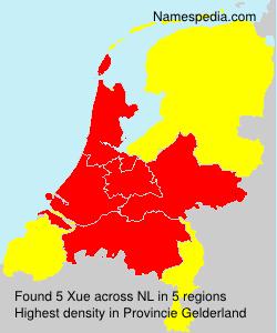 Familiennamen Xue - Netherlands
