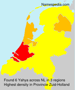 Surname Yahya in Netherlands