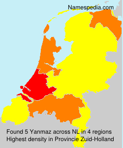 Surname Yanmaz in Netherlands