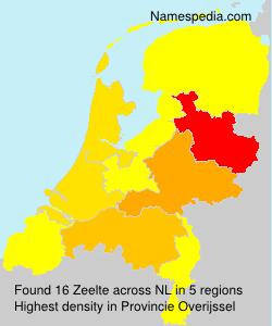 Familiennamen Zeelte - Netherlands