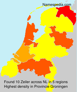 Surname Zeiler in Netherlands