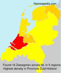 Surname Zweegman in Netherlands