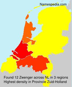 Surname Zwenger in Netherlands