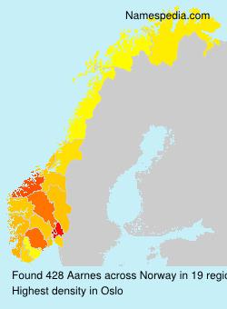 Familiennamen Aarnes - Norway