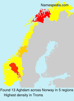 Surname Aghdam in Norway