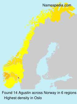 Surname Agustin in Norway