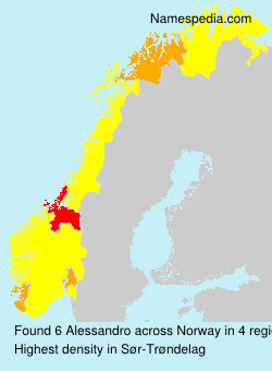 Surname Alessandro in Norway