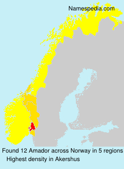 Surname Amador in Norway