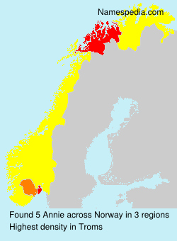Surname Annie in Norway