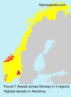 Surname Assadi in Norway